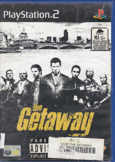 The Getaway  **Complete with Manual + Map**