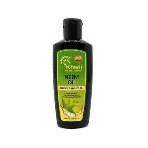 Khadi-Ayurveda-Neem-Oil-Pure-Cold-Pressed-Oil-Pure-amp-Natural-Oil-100-ML