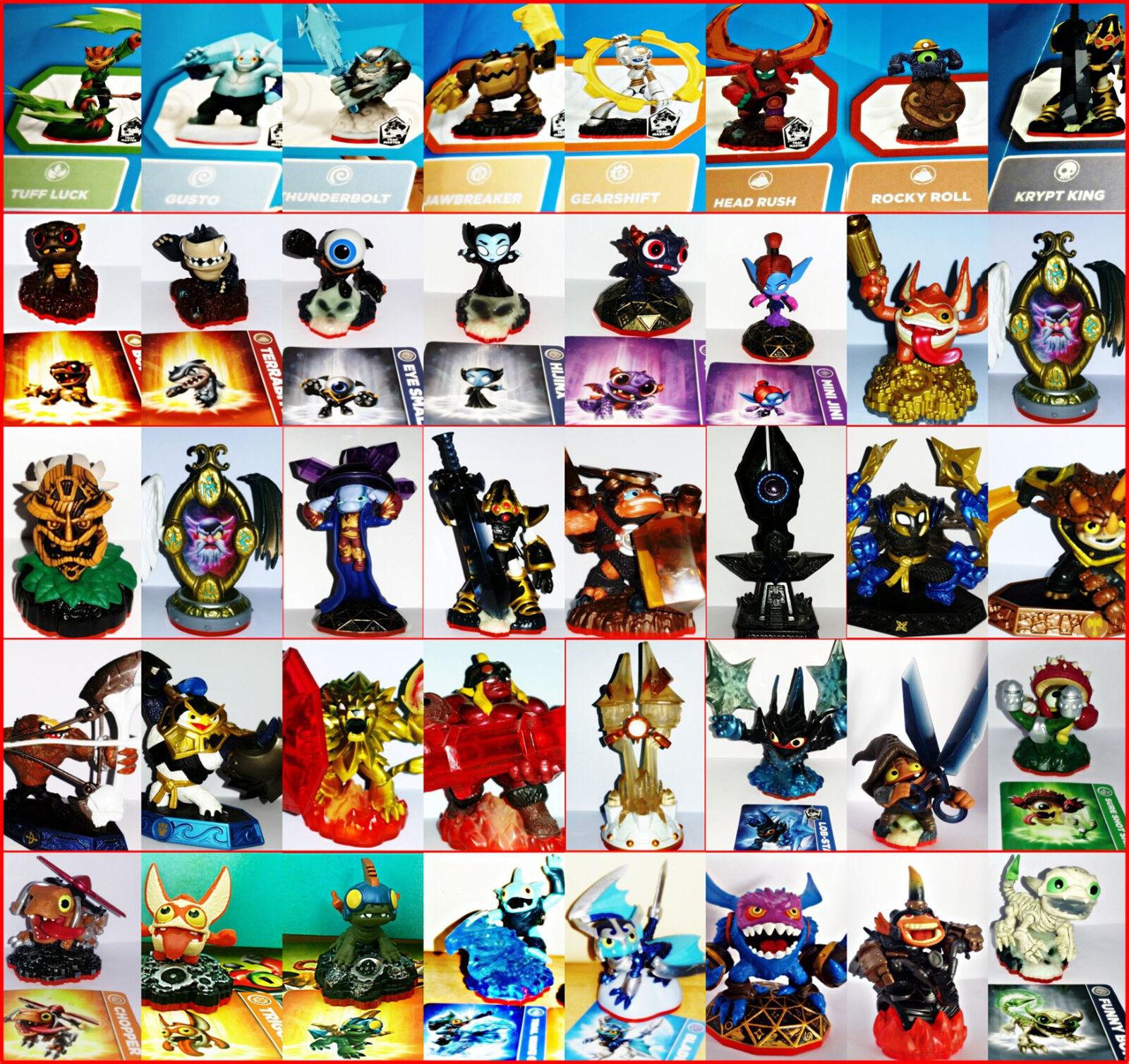 Skylanders Trap Team Figurines Séléction Tous Consoles Ps3, Ps4, Xbox, One, Wii,
