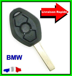 coque t l commande plip cl bmw s rie z4 e38 e39 e46 m5 m3 lame vierge ebay. Black Bedroom Furniture Sets. Home Design Ideas