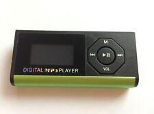 Mini USB MP3 Music Media Player LCD Screen Support 16GB Micro SD TF