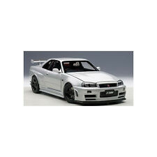 AUTOart 1:18 77352: Nismo R34 GT-R Z-Tune 2005 Silver