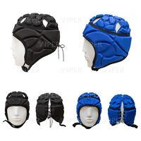 Rugby Headguard Scrum Cap Helmet Head Guard/gear Viper Rugby (free Shoe Bag )
