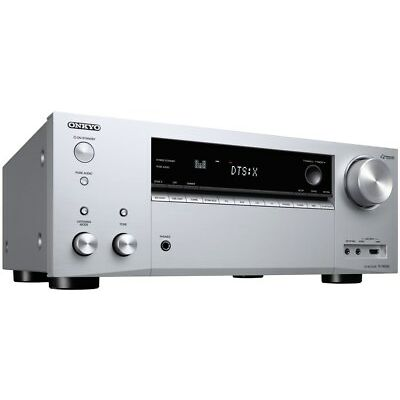 Onkyo TX-NR686-S Home Theater AV-Receiver/Amplifier silber (AV-Receiver)