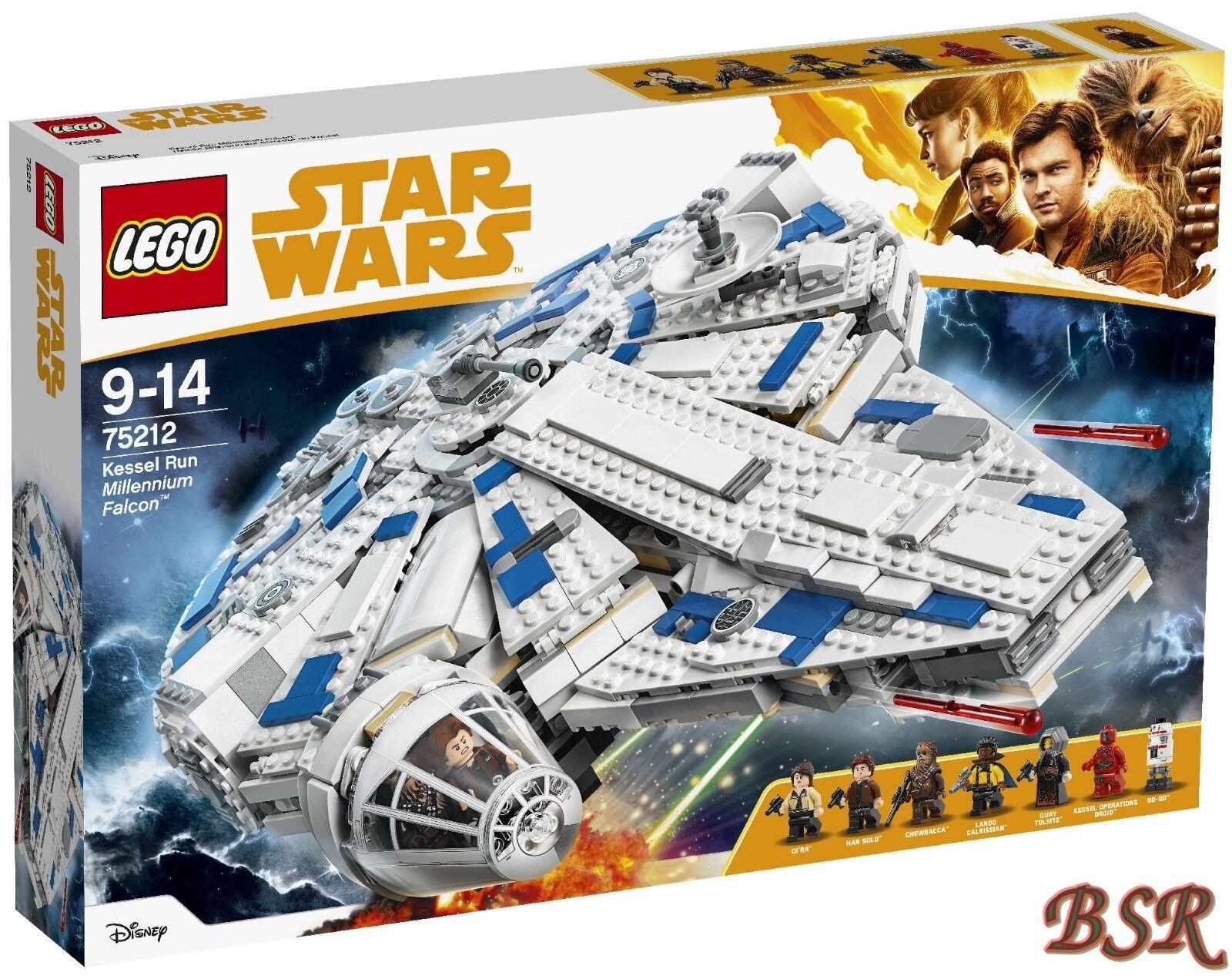 LEGO ® Star Wars ™: 75212 caldaie Run Millennium Falcon ™ & 0.€ Spedizione & NUOVO & OVP