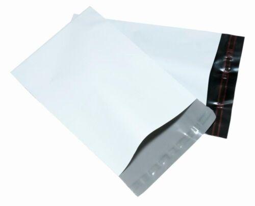 "Blanco pesado deber 10/"" X 14/"" 250 X 350mm 75mu Correo Postal Bolsas Elegir Cantidad"