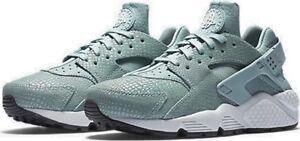 UK-5-5-Women-039-s-Nike-Air-Huarache-Run-Print-Trainers-EUR-39-US-8-725076-006