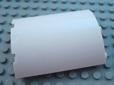 LEGO White 4x4x6 Quarter Cylinder Panel Piece
