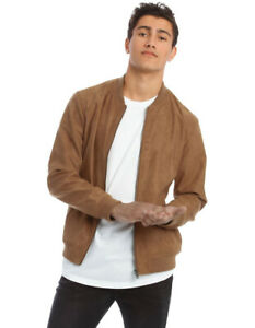 Kenji Travis Sueded Bomber Jacket