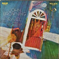 JOHN BROWNING PLAYS RAVEL-NM1968LP Sonatine/Le Tombeau de Couperin/Gaspard...