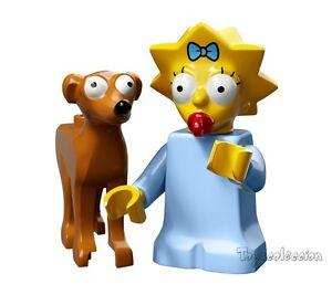 LEGO-MINIFIGURES-SERIE-THE-SIMPSONS-2-MINIFIGURA-MAGGIE-71009-ORIGINAL-MINIF