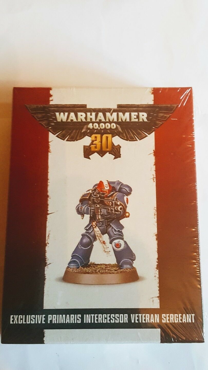 Games Workshop Exclusive Primaris Intercessor Veteran Sargeant BNIB