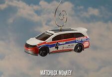 Custom Honda Odyssey Christmas Ornament 1/64th Scale Adorno Racing Van Mini