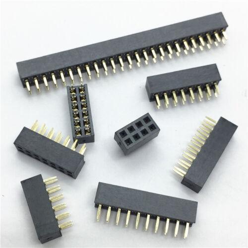 2.0mm Pitch Double Row Pin Header Strip 2*2p//3p//4p//5p//6p//8p//10p//12p//15p//20p//40P