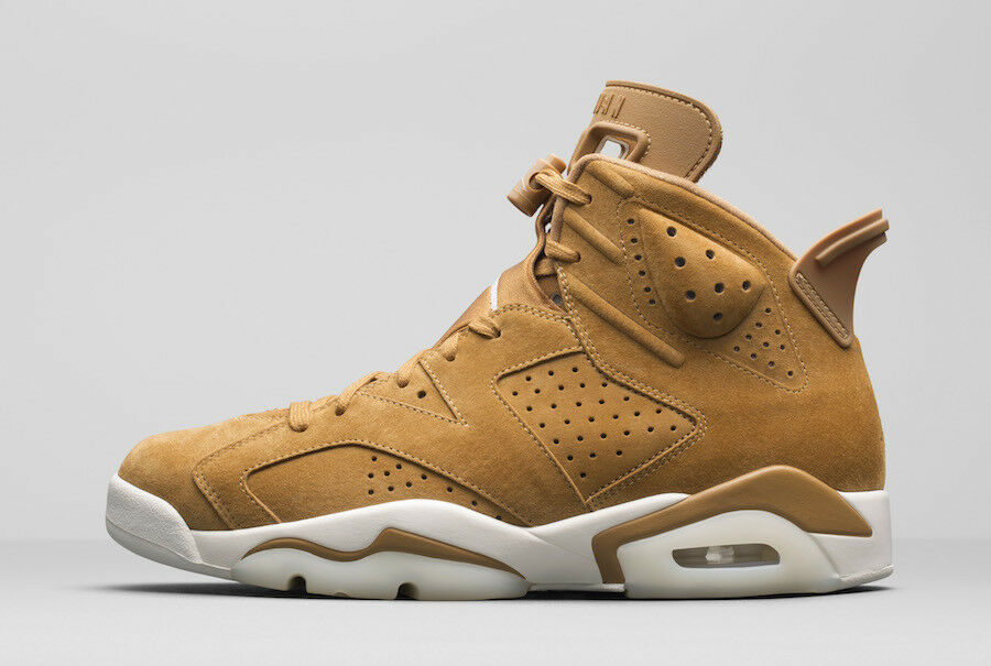 "BRAND BRAND BRAND NEW NIKE AIR JORDAN 6 ""GOLDEN HARVEST""  UK7.5/EU42 bd97b3"