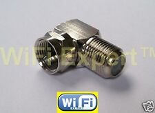 1 x Coaxial Type F Male Plug to F Female Jack TV in series RF adapter connector