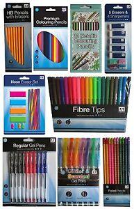 Colouring-PENS-amp-PENCILS-Felt-Tips-Gift-School-Home-Office-Supplies-Anker