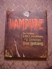 2007 Book, VAMPYRE, THE TERRIFYING LOST JOURNAL OF DR. CORNELIUS VAN HELSING