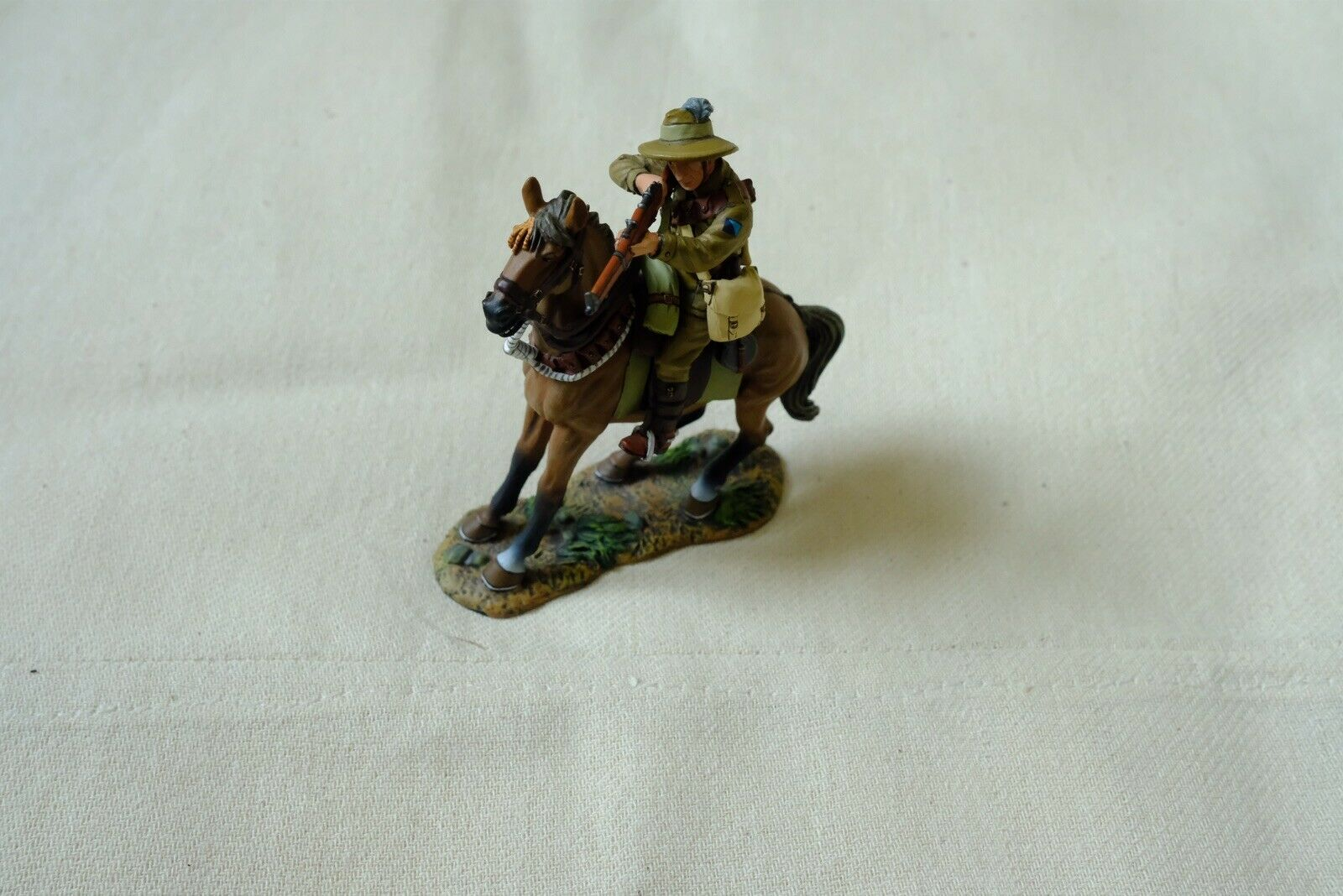 King And Country Australian Light Horse AL16 Firing Rifle Lighthorseman Lighthorseman Soldier