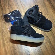 Adidas Originals Tubular Infant Invader Strap Shoes BA9367 Sz 4K