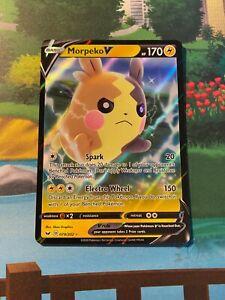Morpeko V 79//202 Pokemon Half Art Sword and Shield