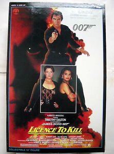 POUPEE SIDESHOW james bond 12 LICENCE TO KILL - TIMOTHY DALTON