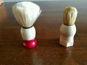 Lot of 2 Vintage Shaving Cream Brushes
