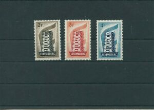 Luxembourg-Vintage-Yearset-1956-Mi-555-557-Neuf-MNH-Plus-Sh-Boutique