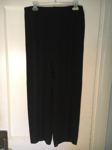 Vintage Claire McCardell 1950's Pleated black pant