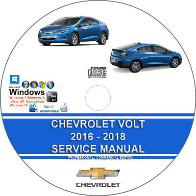 Chevrolet Volt 2016 2017 2018 Service Repair Manual + Wiring Diagrams  download | eBayeBay