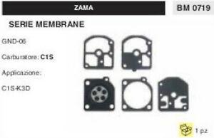 100% De Qualité Kit Serie Membrane Completo Membrana Carburatore C1s Zama Gnd-06 PréParer L'Ensemble Du SystèMe Et Le Renforcer
