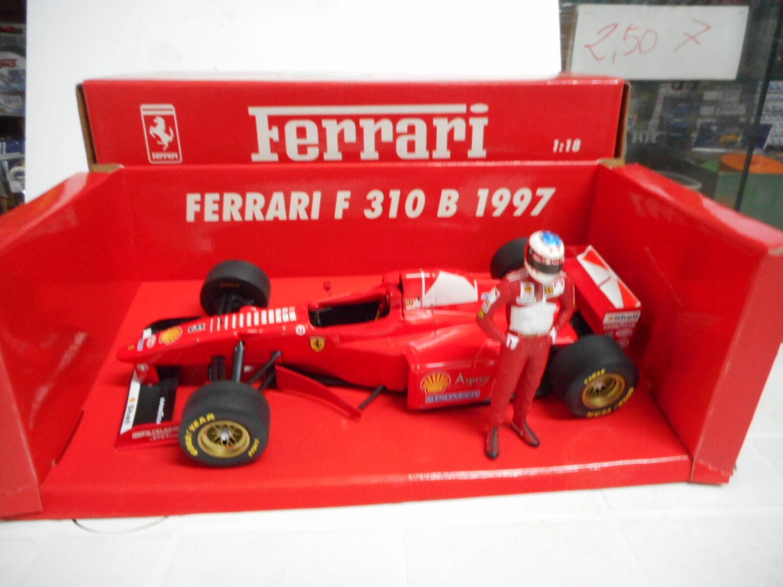 MINICHAMPS 1 18 - F1 FERRARI F310 B 1997 CON FIGURA DI M.SCHUMACHER