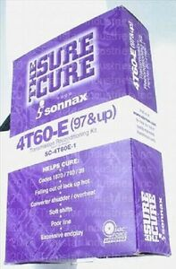 4T60E TRANSMISSION SURE CURE SONNAX SC-4T60E SC-4T60E-1 1997+