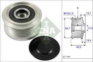 INA-alternatorover-in-esecuzione-della-Frizione-Puleggia-535022810-Opel-Astra-con-adatta-per-Sport