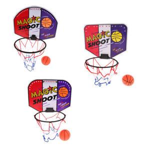 KIDS MINI BASKETBALL Set Indoor Net Hoop Game 40x31cm