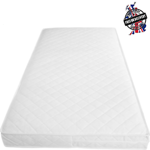 Baby-Toddler-Cot-Bed-Breathable-QUILTED-AND-WATERPROOF-Foam-Mattress-All-Sizes