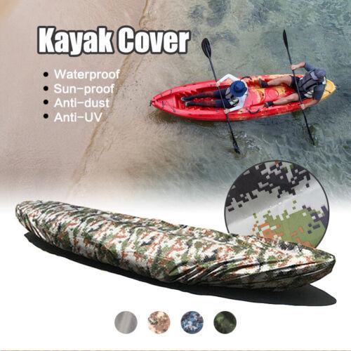 Waterproof Kayak Canoe Marine Boat Storage Cover Dust UV Sun Protection Shield