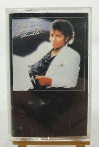 "Michael Jackson ""Thriller"" Cassette #ET66073 Epic Records Circa 2001"