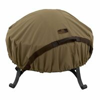 Classic Accessories 55-198-012401-ec Hickory Round Fire Pit Cover, Large 60 Inch on sale