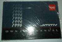 1996 Gmc Jimmy Owners Manual