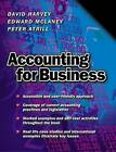 Accounting for Business by David Harvey, Edward McLaney, Peter Atrill (Paperback, 2000)