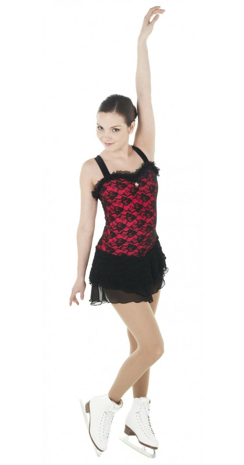 New Competition Skating Dress Xpression Tango Burlesque 1420 Youth 12-14