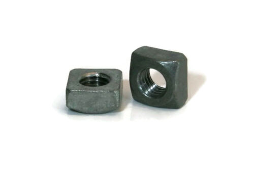 """Square Nuts Hot Dipped Galvanized Grade 2-1//4/""""-20 UNC Qty-1000"""
