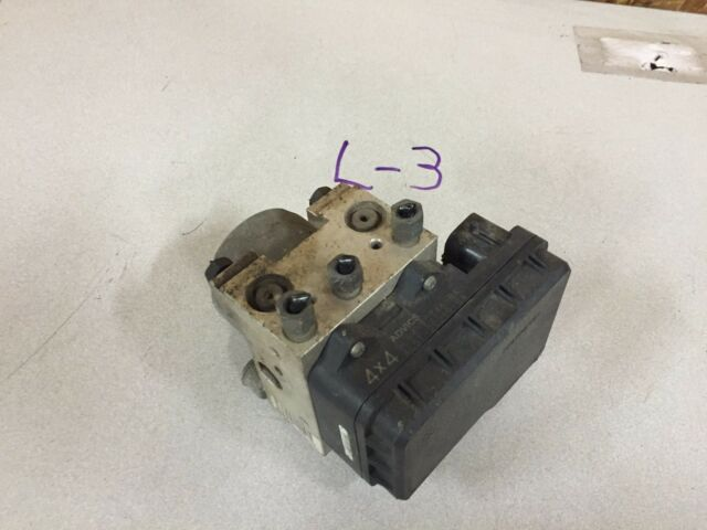 04-09 FORD RANGER ABS ANTI LOCK BRAKE PUMP ASSEMBLY (4 wheel ABS), 4x4