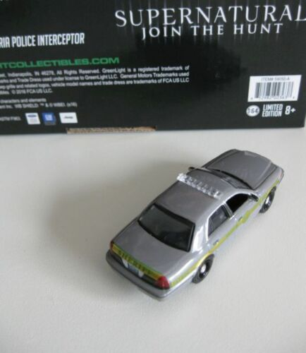GreenLight 1:64 nuevo Ford Crown police interceptor sheriff supernatural