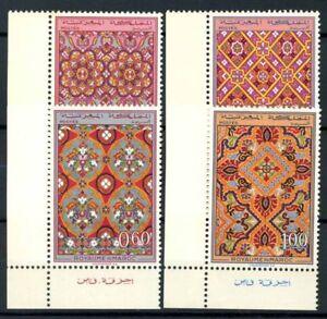 Marokko-1968-Mi-624-627-Postfrisch-100-Kunst