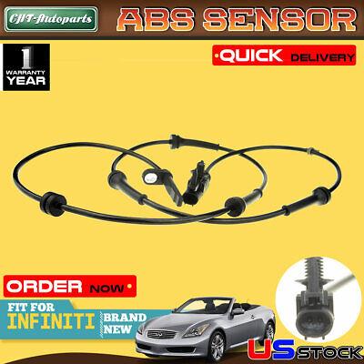 FRONT// LEFT /& RIGHT SIDE Premium ABS Wheel Speed Sensor  47910-JK500  FITS