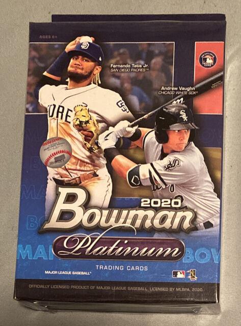 2020 Topps Bowman Platinum Baseball Hanger Box