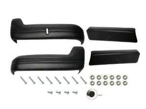 Rare Spares ST1000 Holden FE FC Seat Trim Set Bench - Black