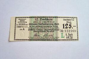 125-Mark-Zinsschein-Aktiengesellschaft-Darmstadt-1928-284